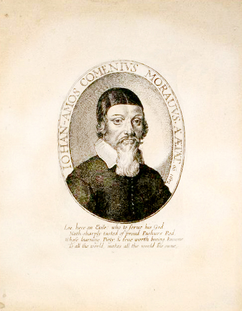 Jan Amos Komensky podobizna